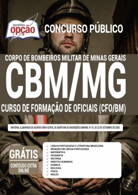 Apostila Concurso Bombeiro MG 2020 PDF Download Digital