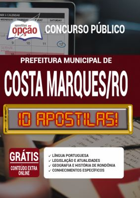 Apostila Prefeitura de Costa Marques RO 2020 PDF Download