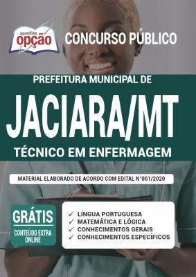 Apostila Prefeitura de Jaciara 2020 PDF Download Técnico em Enfermagem
