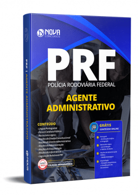 Apostila Polícia Rodoviária Federal 2020 PDF Grátis Cursos Online Agente Administrativo