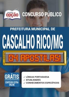 Apostila Prefeitura de Cascalho Rico MG 2020 PDF Download