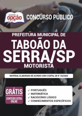 Apostila Prefeitura de Taboão da Serra SP 2020 PDF Download