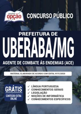 Apostila Concurso Prefeitura de Uberaba MG 2020 PDF Download Agente de Combate às Endemias