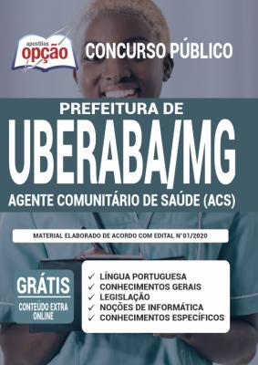 Apostila Concurso Prefeitura de Uberaba MG 2020 PDF Download Agente Comunitário de Saúde