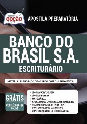 Apostila Banco do Brasil 2021 PDF Download Escriturário