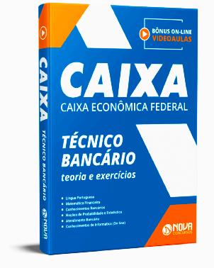 Apostila Caixa Econômica Federal 2021 PDF Grátis Download