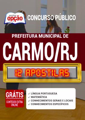 Apostila Concurso Prefeitura de Carmo RJ 2020 PDF Download