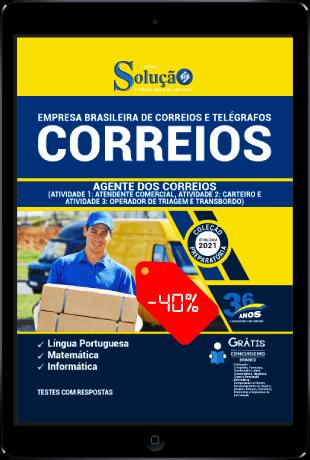 Apostila Correios 2021 PDF Download Agente de Correios