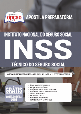 Apostila INSS 2021 PDF Download Técnico do Seguro Social