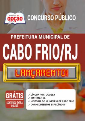 Apostila Prefeitura de Cabo Frio RJ 2020 PDF Download Digital
