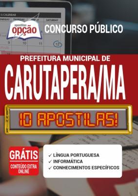 Apostila Prefeitura de Carutapera MA 2020 PDF Download