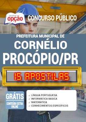 Apostila Prefeitura de Cornélio Procópio PR 2020 PDF Download