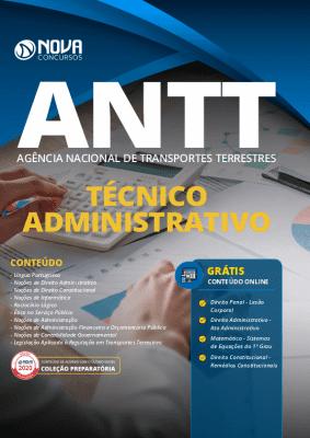 Apostila Concurso ANTT 2020 PDF Download Grátis Cursos Online Técnico Administrativo