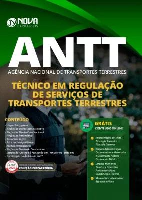 Apostila Concurso ANTT 2020 PDF Download Grátis Cursos Online Técnico em Regulação de Serviços de Transportes Terrestres