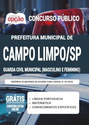 Apostila Concurso Campo Limpo Paulista SP 2020 PDF Download