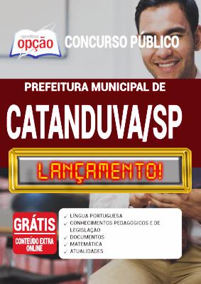 Apostila Concurso Catanduva SP 2020 PDF Download Digital
