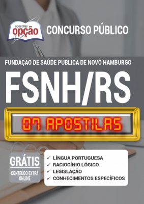 Apostila Concurso FSNH RS 2020 PDF Download