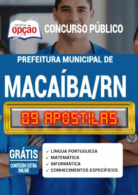 Apostila Concurso Prefeitura de Macaíba RN 2020 PDF Download