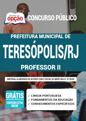 Apostila Teresópolis RJ 2020 PDF Download Professor II