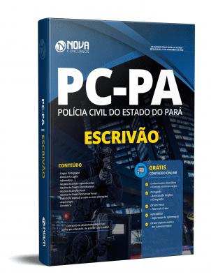 Apostila PC PA 2020 PDF Grátis Cursos Online Escrivão PC PA 2020