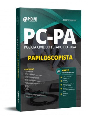 Apostila PC PA 2020 PDF Grátis Cursos Online Papiloscopista PC PA