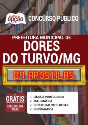 Apostila Prefeitura de Dores do Turvo MG 2020 PDF Download