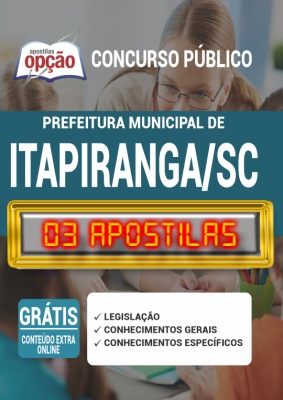 Apostila Prefeitura de Itapiranga SC 2020 PDF Download Digital