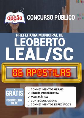 Apostila Prefeitura de Leoberto Leal SC 2020 PDF Download Digital