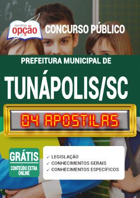 Apostila Prefeitura de Tunápolis SC 2020 PDF Download Digital