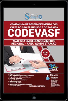 Apostila Concurso CODEVASF 2020 PDF Download Analista em Administração
