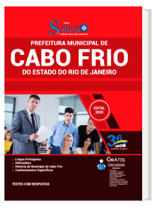 Apostila Concurso Cabo Frio 2020 PDF Download Digital