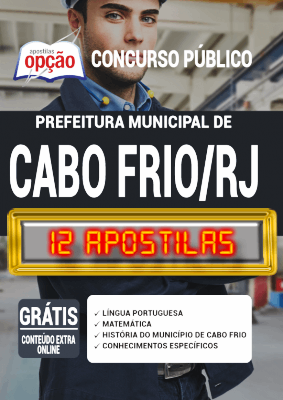 Apostila Cabo Frio 2020 PDF Download Digital