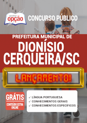 Apostila Concurso Dionísio Cerqueira SC 2020 PDF Download