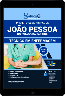 Apostila Concurso João Pessoa 2020 Técnico em Enfermagem PDF Download