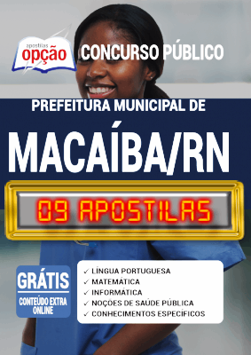 Apostila Concurso Macaíba 2020 PDF Download Digital