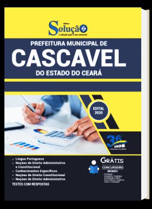 Apostila Concurso Prefeitura de Cascavel CE 2021 PDF Download