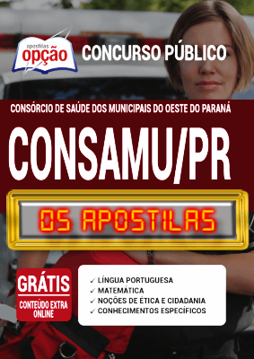 Apostila CONSAMU PR 2020 PDF Download Digital Paraná