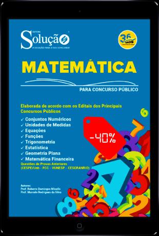 Apostila de Matemática para Concurso PDF Download