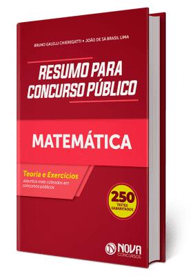 Apostila de Matemática para Concurso PDF Download Digital Nova Concursos