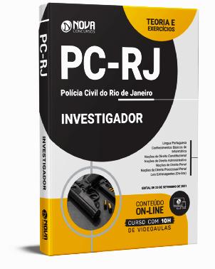 Apostila Investigador Polícia Civil RJ 2021 PDF Grátis Cursos Online