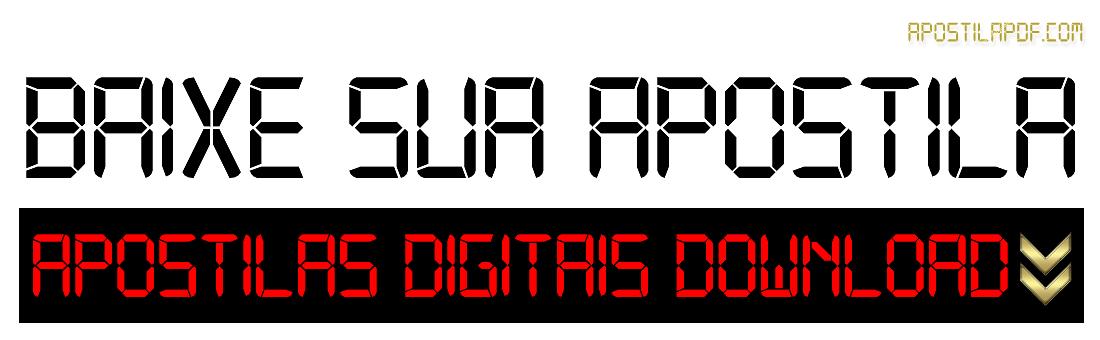 Baixar Apostila PDF Download 2021 Grátis Cursos Online