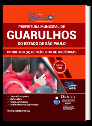 Apostila Prefeitura de Guarulhos SP 2021 Condutor de Veículos de Urgências PDF Download