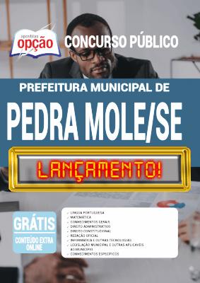 Apostila Prefeitura de Pedra Mole SE 2020 PDF Download