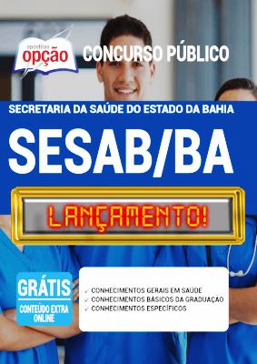 Apostila SESAB BA 2020 PDF Download Concurso SESAB Bahia 2020