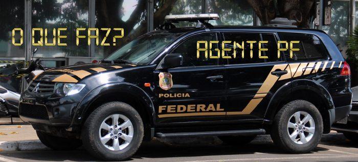 O que faz um Agente da Polícia Federal PDF Download Grátis