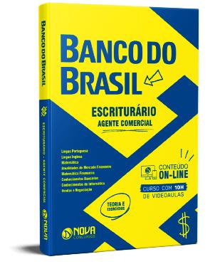 Apostila Banco do Brasil 2021 PDF Grátis Escriturário Agente Comercial