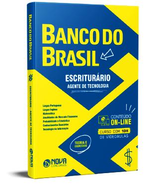 Apostila Banco do Brasil 2021 PDF Grátis Escriturário Agente Tecnologia