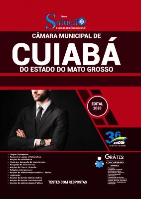 Apostila Câmara de Cuiabá 2021 PDF Grátis Conteúdo Online Editora Solução