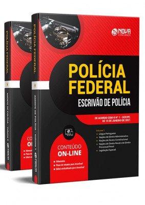 Apostila Polícia Federal 2021 PDF Grátis Cursos Online Escrivão de Polícia
