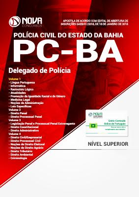 Apostila Delegado PC BA 2021 PDF Grátis Cursos Online